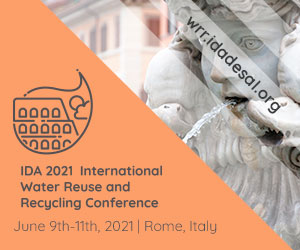 Ida 2021 international water reuse and recycling conference   mr december 2020